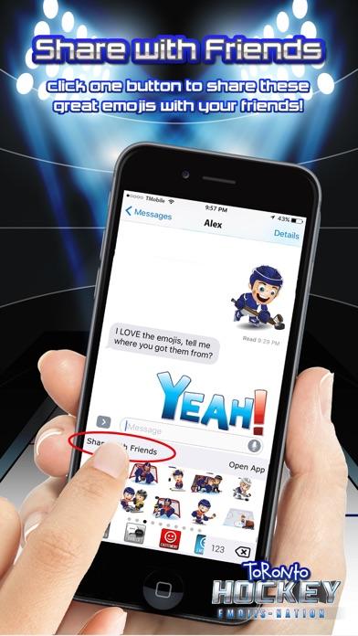 Toronto Hockey Emojis Screenshot 5