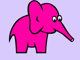 Pink Elephant Sticker Pack