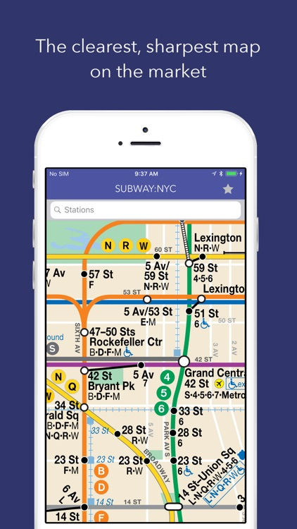 SUBWAY:NYC - Map + Schedules