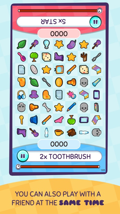 Find Stuff - doodle match game screenshot-2