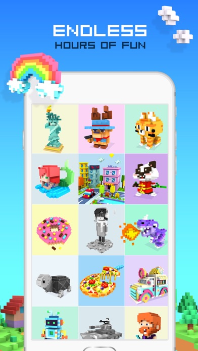 RAINBOW Color by Number screenshot 5