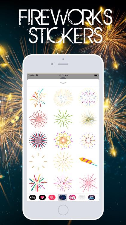 Fireworks Stickerss