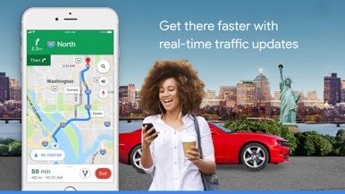 Google Maps - Transit & Food screenshot for iPhone