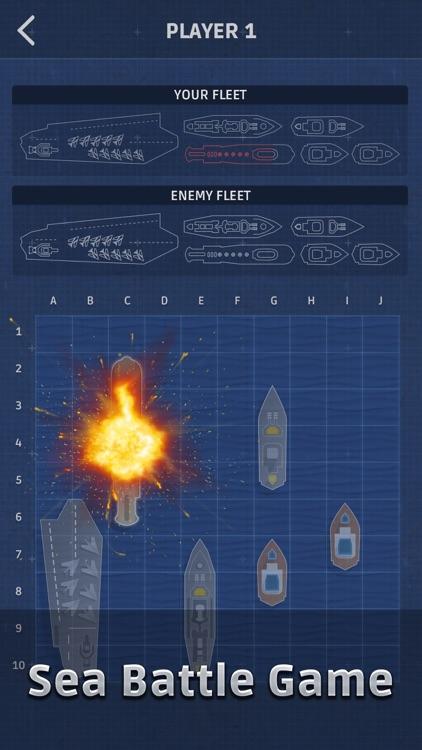 Sea Battle: Fleet battle game