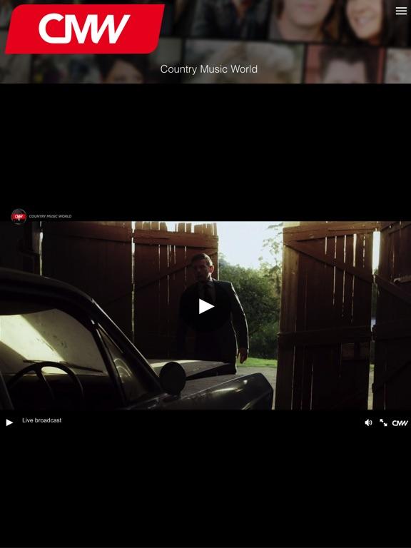 Screenshot #1 for Country Music World