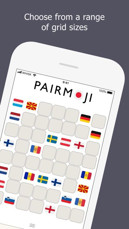 Pairmoji - World Flags screenshot-3