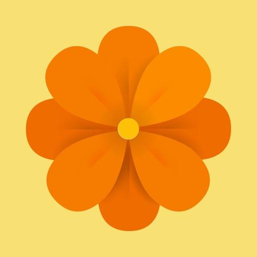Floralgraphy Love Sticker