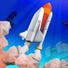 Cube Space Rocket Flight Sim