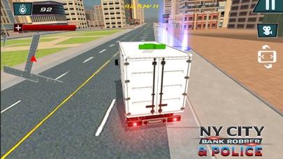 NY City Bank Robber & Police-0