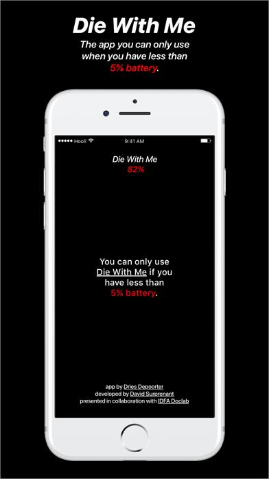 Die With Me app image