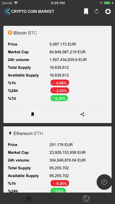 Crypto Coin Market screenshot four