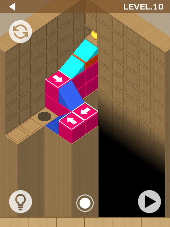 Woodish Brick & Ball Puzzles screenshot 4