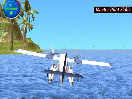 Flying Sea Stunts 3D screenshot 5