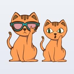 Cat + Kitty Emojis & Stickers - Cat Moji