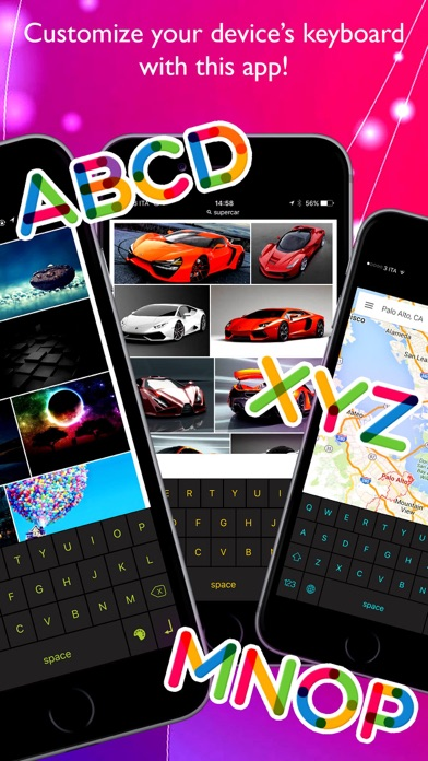 Color Keys Keyboard Pro Screenshots