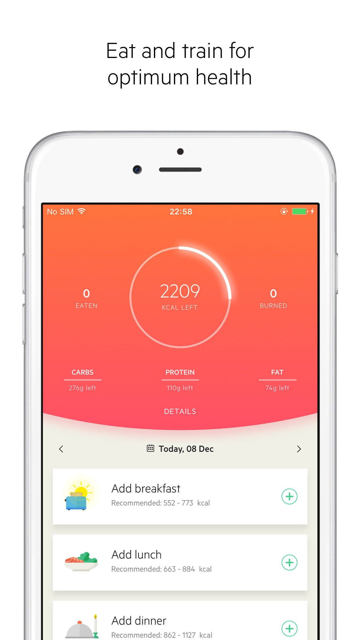 Lifesum: Diet & Health Tracker Screenshot