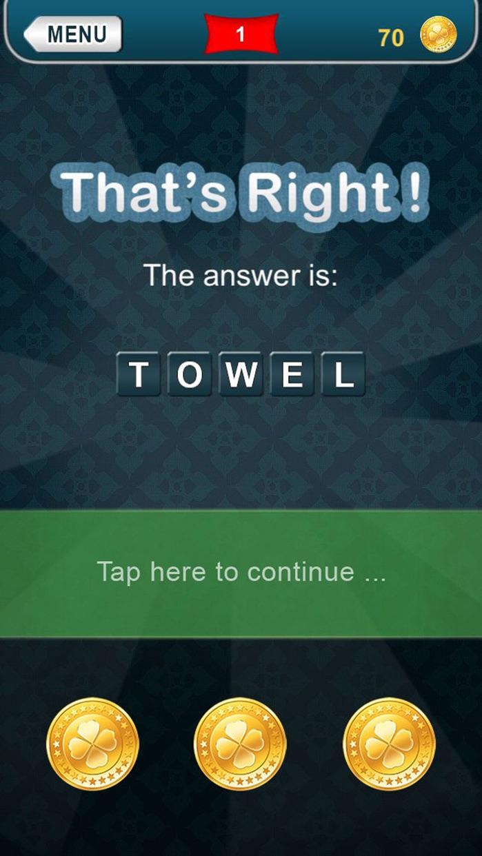 What am I? riddles - Word game made fun Screenshot
