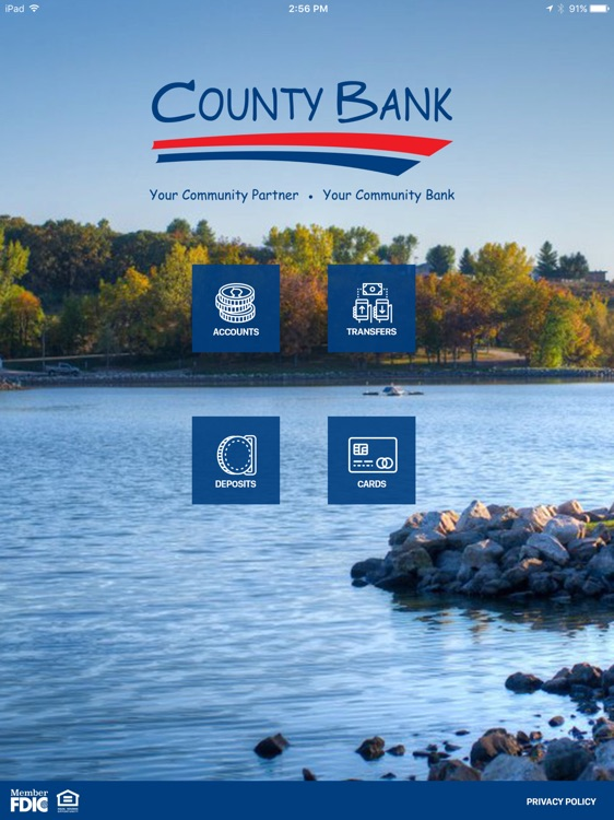 County Bank for iPad