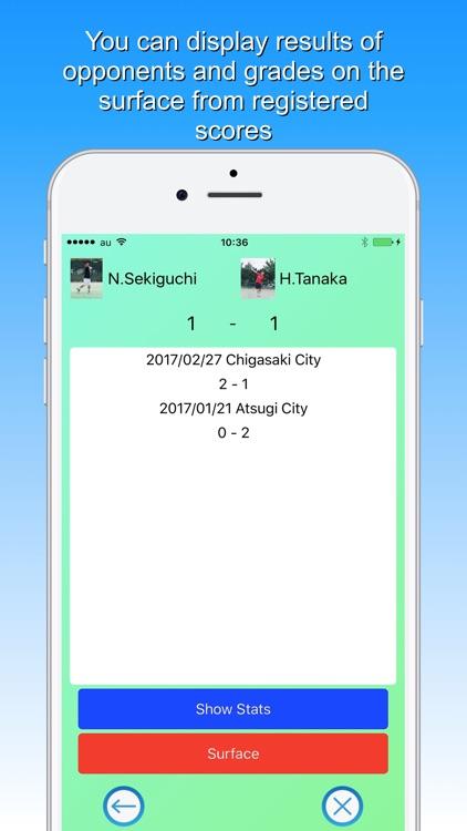 Tennis Score & Card screenshot-3