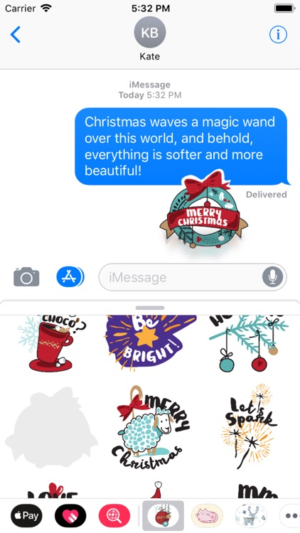 Awesome Christmas Stickers