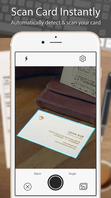 Business card scanner reader by odyssey apps ltd business card scanner reader reheart Gallery