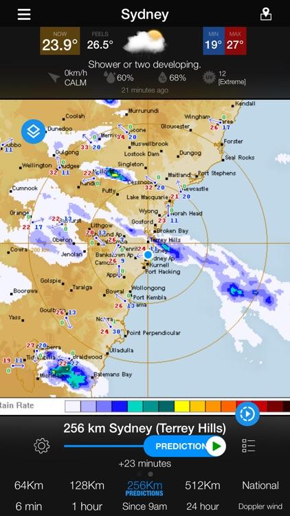 AUS Radar: WeatherAlert