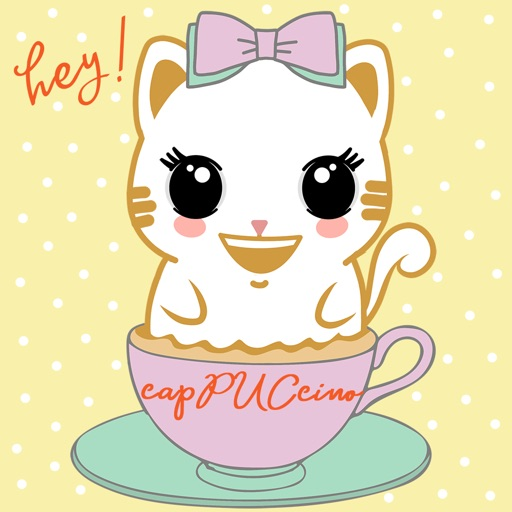 Caramel Kitty Cappuccino