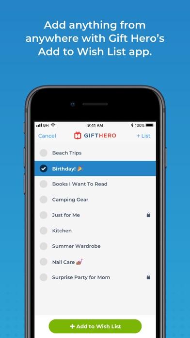 Gift Hero screenshot one