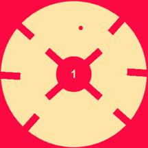 旋转的小红点 - 好玩儿的敏捷游戏