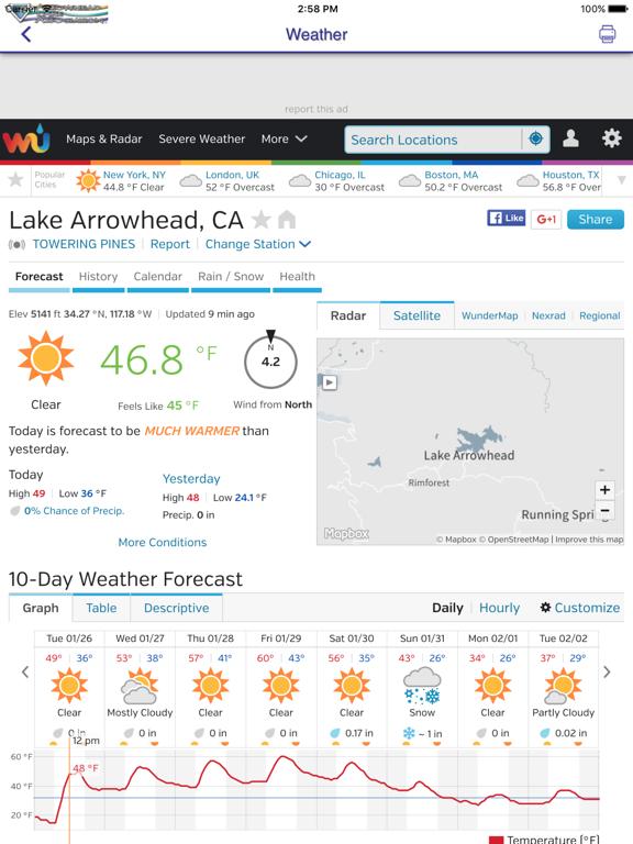 Ipad Screen Shot Arrowhead Lake Association 1