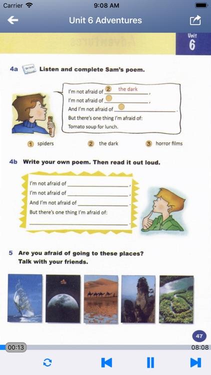 外研社剑桥小学英语 JOIN IN 五年级上下册 screenshot-4