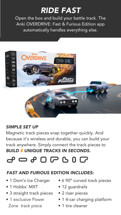 Anki OVERDRIVE: Fast & Furious screenshot two