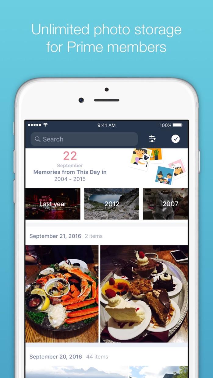 Prime Photos from Amazon Screenshot