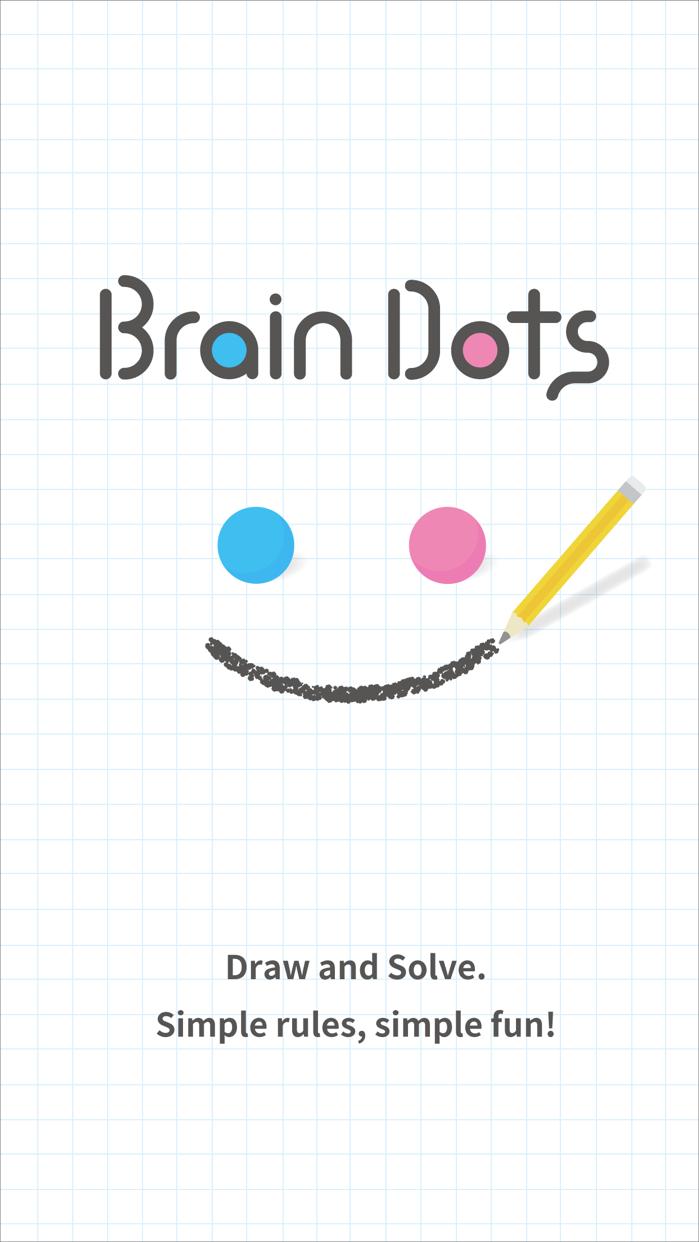 Brain Dots - Draw and Solve! Screenshot