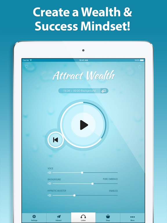 Screenshot #4 pour Attract Wealth Hypnosis