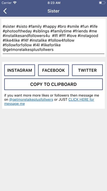 Get more followers + Likes