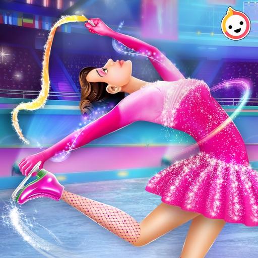 лед Катание на коньках девушка