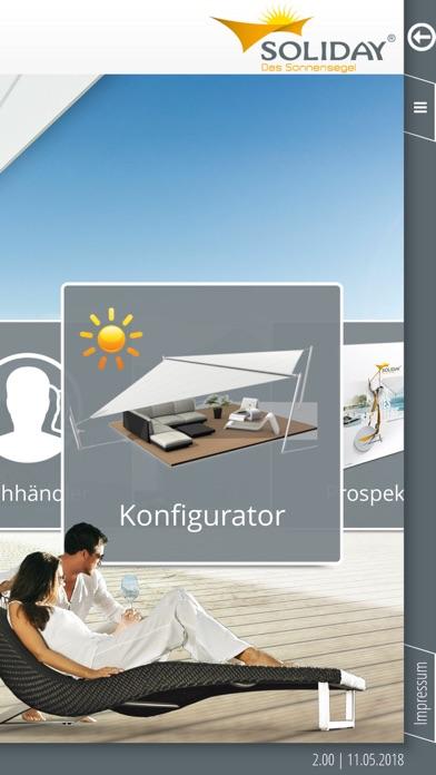 Soliday - Das SonnensegelScreenshot von 1