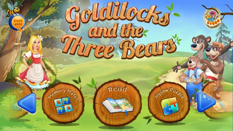 Goldilocks & the 3 Bears Book