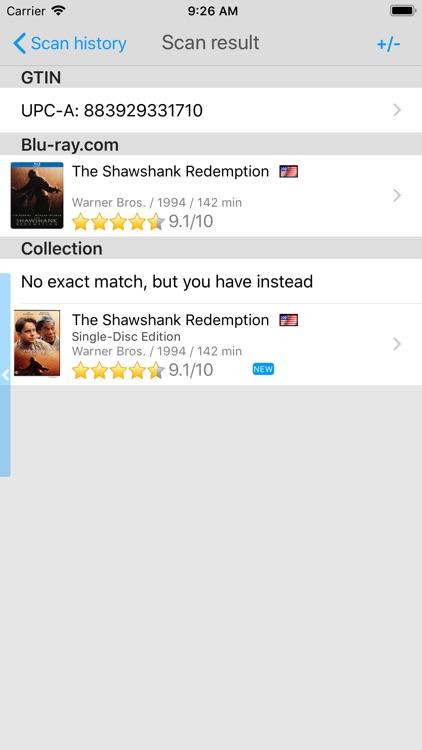 My Movies by Blu-ray.com screenshot-7