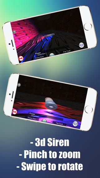 Sirena de policía broma 3DCaptura de pantalla de2