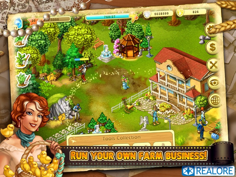 Farm Up! HD: farming business