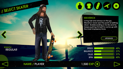 Screenshot from Skateboard Party 2