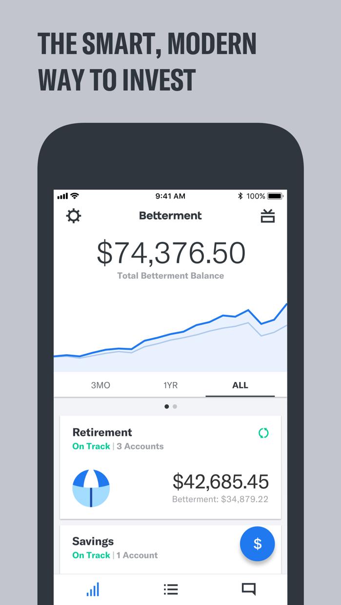 Betterment: Outsmart Average Screenshot