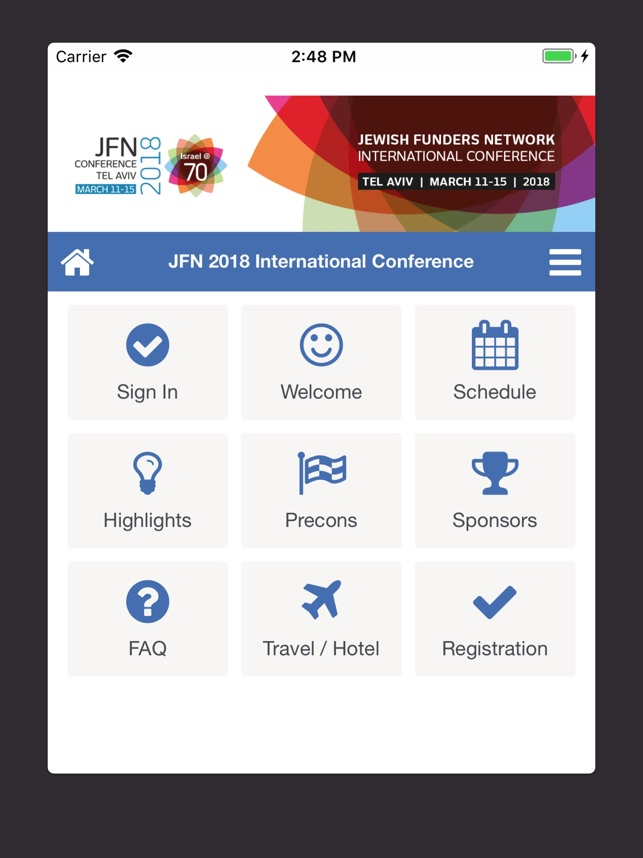 JFN 2018 on the App Store
