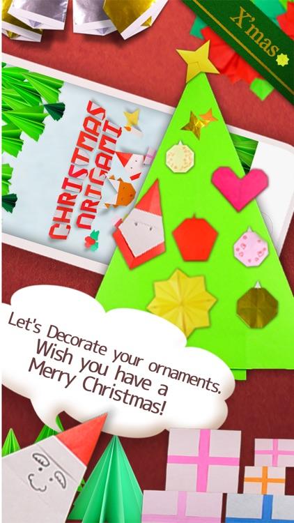 Christmas Origami Ornament screenshot-3