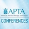 This app will provide you with everything you will need for each of APTA's national conferences: CSM, NEXT and NSC