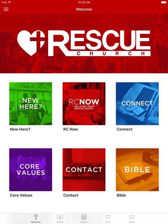 Rescue Church App screenshot 4