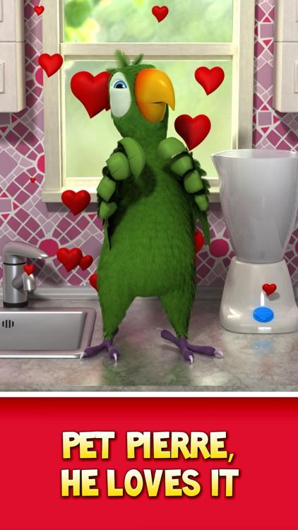 Talking Pierre the Parrot screenshot-4