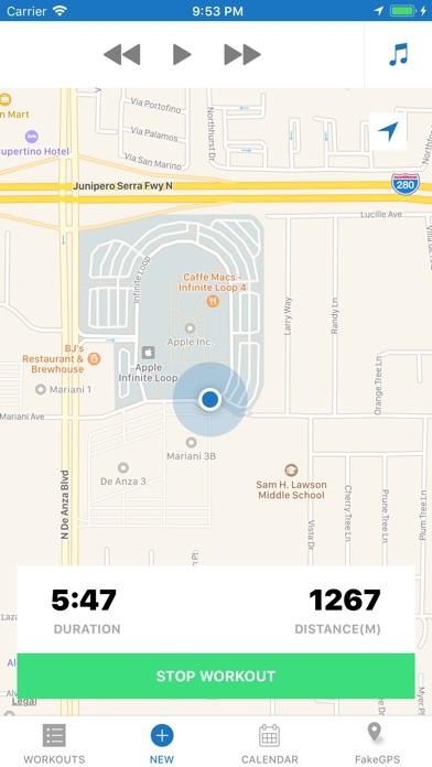Run - GPS Running Tracker Screenshot